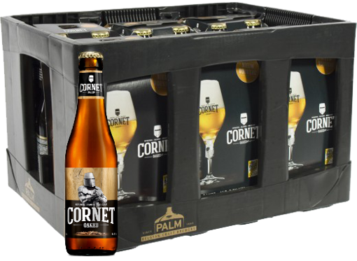 Picture of CORNET OAKED 24X33CL